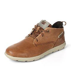 CAT/卡特2017秋冬新款棕色牛皮/织物男户外休闲鞋活跃装备(Active)P720297G3KMA36
