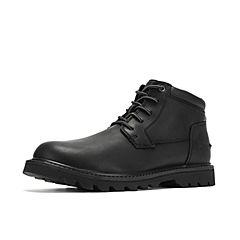 CAT卡特2018秋冬新款黑色牛皮革男子休闲靴P720573H3BDR09