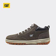 CAT卡特秋冬款深灰色牛皮革男子休闲鞋P717958H3EMA03