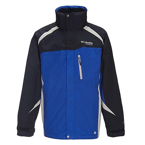 Columbia/哥伦比亚 男子户外防风防水三合一冲锋衣PM7753437