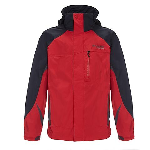 Columbia/哥伦比亚 男子户外防水透气冲锋衣PM2706610