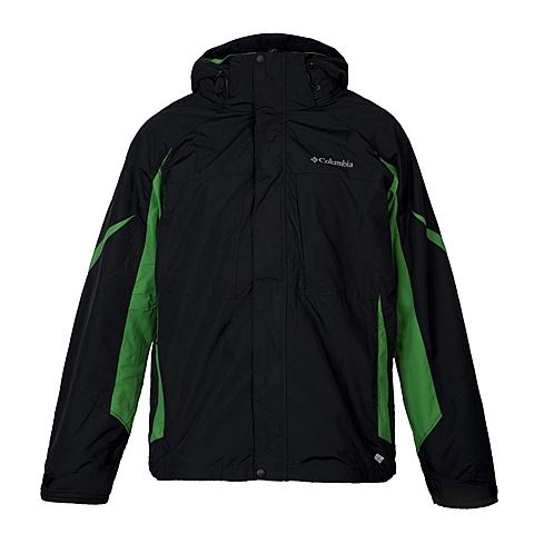 Columbia/哥伦比亚 专柜同款男子三合一冲锋衣PM7762010