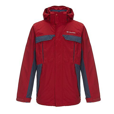 Columbia/哥伦比亚 男子户外三合一冲锋衣WM7118678