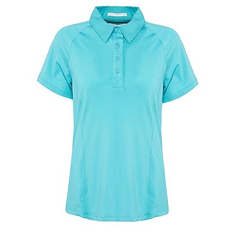 Columbia/哥伦比亚 女子户外休闲速干防晒短袖T恤FR6006732