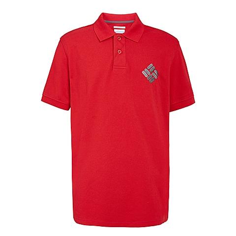 Columbia/哥伦比亚 男子户外休闲速干短袖T恤LM6347610