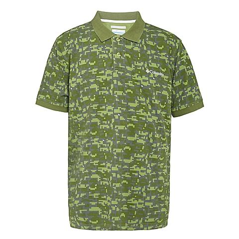 Columbia/哥伦比亚 男子户外休闲短袖T恤LM6348362
