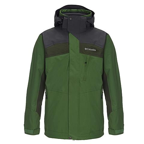 Columbia/哥伦比亚 专柜同款男子户外防水三合一冲锋衣PM7641350