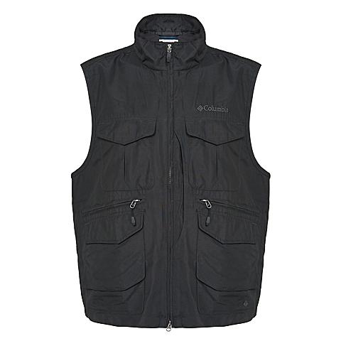 Columbia/哥伦比亚男子户外冲锋衣马甲背心PM1999048