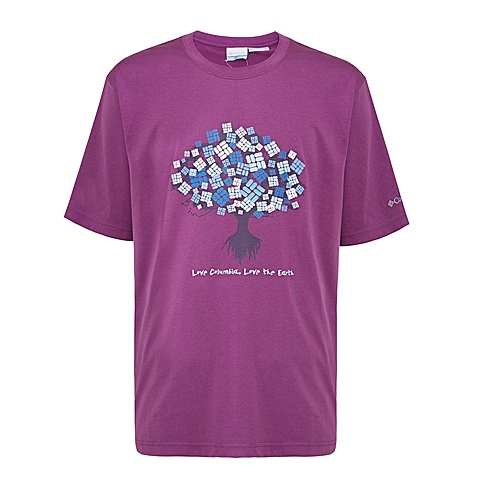 Columbia/哥伦比亚 男子户外休闲短袖T恤LM6840503