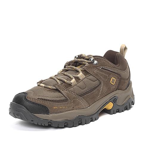 Columbia/哥伦比亚男子灰色耐力徒步系列TRAIL-徒步鞋DM1110211