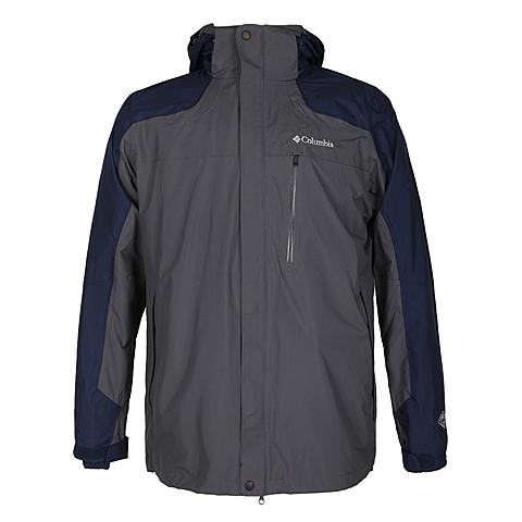 Columbia/哥伦比亚 新品 男防水透气三合一冲锋衣PM7784028