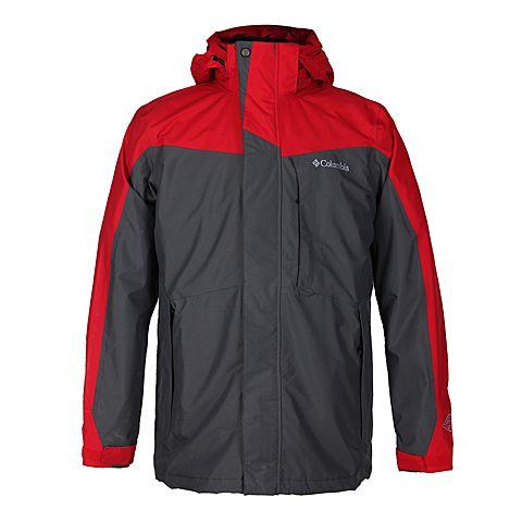 Columbia/哥伦比亚  男灰色 三合一冲锋衣PM7787610