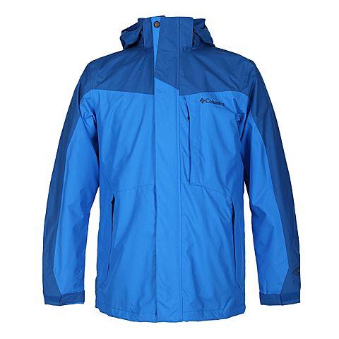 Columbia/哥伦比亚  男 蓝色 三合一冲锋衣PM7787993
