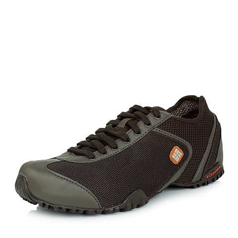 Columbia/哥伦比亚春夏男棕色休闲系列合成革、网布户外休闲鞋DM1086231