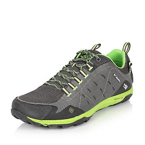 Columbia/哥伦比亚春夏男炭灰越野跑系列织物越野鞋YM5116030