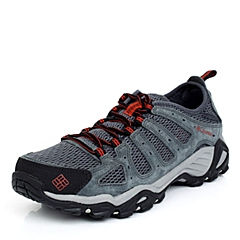 Columbia/哥伦比亚春夏 男士灰色 超轻缓震透气经典款 多功能徒步鞋BM2591