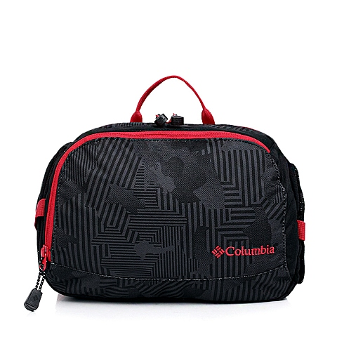 Columbia/哥伦比亚春夏 中性黑色 600D涤纶 可调节索带 腰包LU9495010