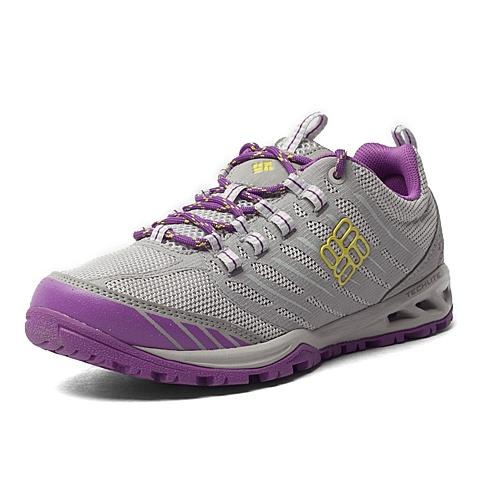Columbia/哥伦比亚 专柜同款女子户外轻盈缓震透气越野跑鞋BL6020009