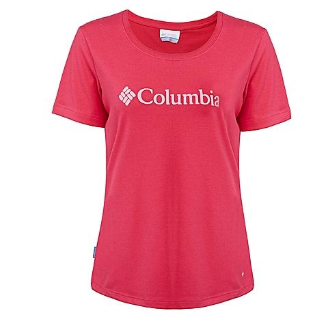 Columbia/哥伦比亚 专柜同款女子户外经典速干休闲短袖T恤PL2514600