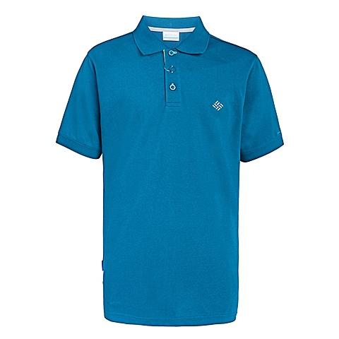 Columbia/哥伦比亚 专柜同款男子速干舒适翻领短袖POLO衫PM1770937