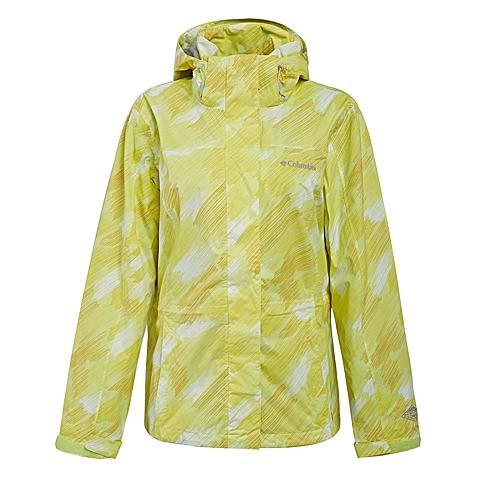 Columbia/哥伦比亚 专柜同款女子户外防水单层冲锋衣WR4145798