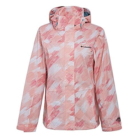 Columbia/哥伦比亚 专柜同款女子户外防水单层冲锋衣WR4145986