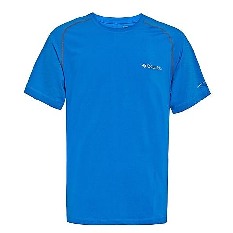 Columbia/哥伦比亚 专柜同款 男子户外速干弹性舒适短袖T恤AE1130438