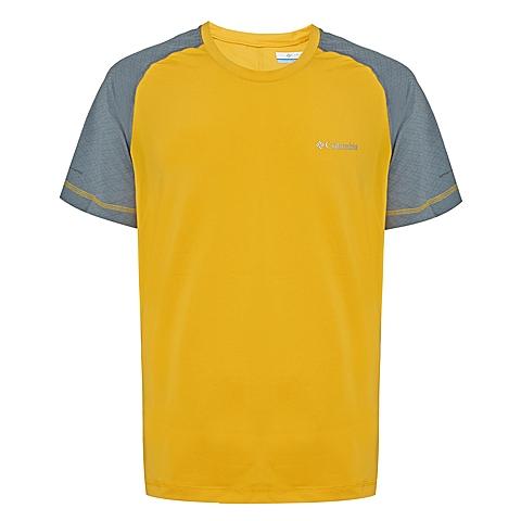 Columbia/哥伦比亚 专柜同款 男子户外速干弹性舒适短袖T恤AE1130703