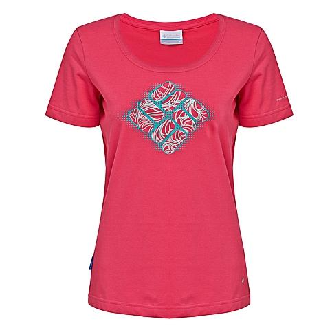Columbia/哥伦比亚 2016专柜同款 女子速干透气防晒短袖T恤PL2480600