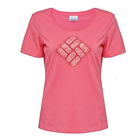 Columbia/哥伦比亚 专柜同款 女子速干透气防晒短袖T恤PL2480652