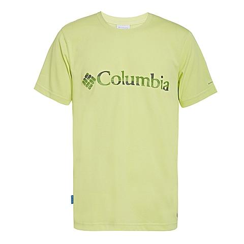 Columbia/哥伦比亚 专柜同款 男子户外速干透气短袖T恤PM1799797