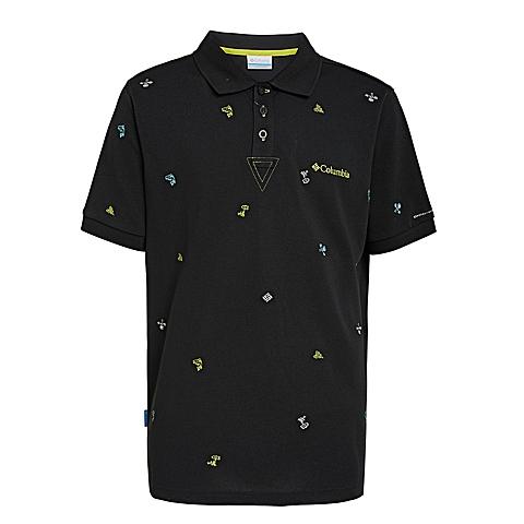 Columbia/哥伦比亚 专柜同款 男子户外速干透气短袖POLO衫PM1761010