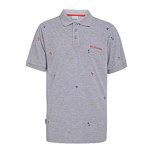 Columbia/哥伦比亚 专柜同款 男子户外速干透气短袖POLO衫PM1761039