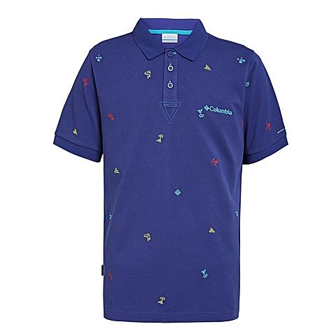 Columbia/哥伦比亚 专柜同款 男子户外速干透气短袖POLO衫PM1761468