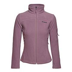 Columbia/哥伦比亚 专柜同款女子防风保暖抓绒衣AR6542533