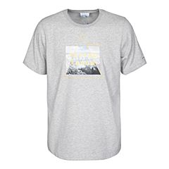 Columbia/哥伦比亚 专柜同款 17春夏新品男子户外印花运动吸湿短袖T恤PM3695039