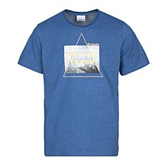 Columbia/哥伦比亚 专柜同款 17春夏新品男子T山脉印花运动吸湿恤PM3695448