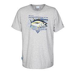 Columbia/哥伦比亚 专柜同款 17春夏新品男子海钓元素印花吸湿T恤PM3703039
