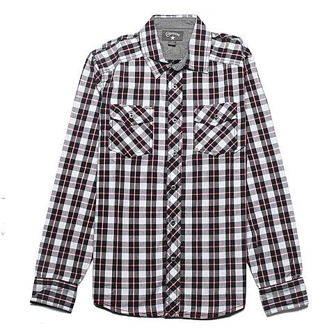 CONVERSE/匡威 男子长袖衬衫02735C002