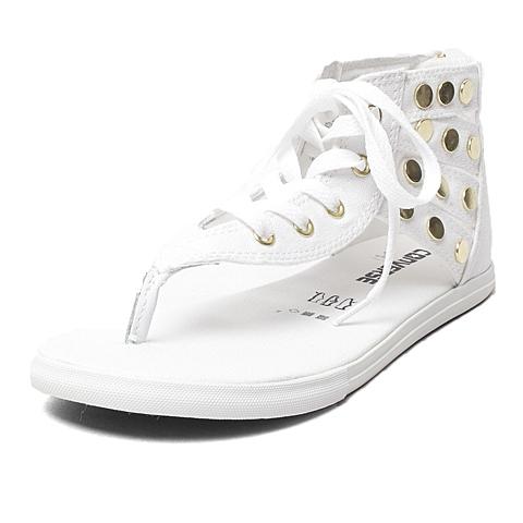 CONVERSE/匡威 新款圆形铆钉女子夹脚凉鞋548711C