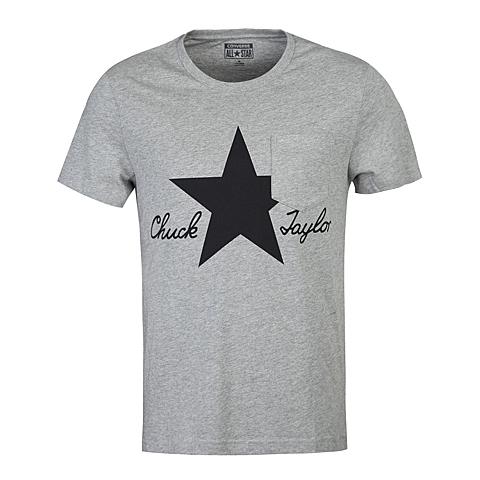 CONVERSE/匡威 新款男子时尚系列短袖T恤13458C035