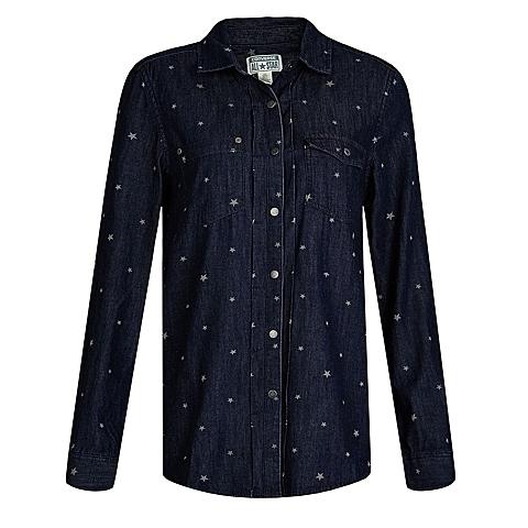 CONVERSE/匡威 新款女子时尚系列长款长袖衬衫12562C411