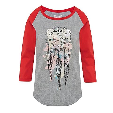 CONVERSE/匡威 2016新款女子七分袖T恤14327C035