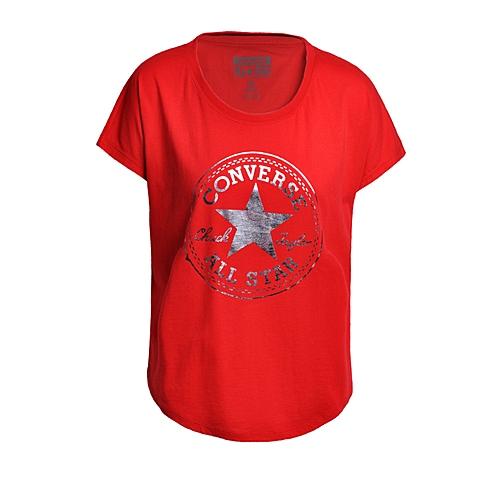 CONVERSE/匡威 新款女子时尚系列短袖T恤10000924630