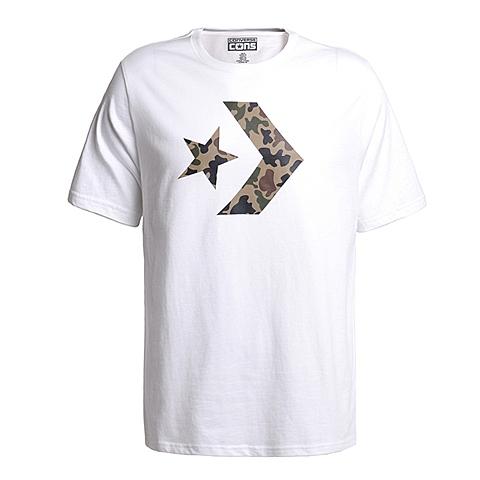 CONVERSE/匡威 新款男子时尚系列短袖T恤13947C102