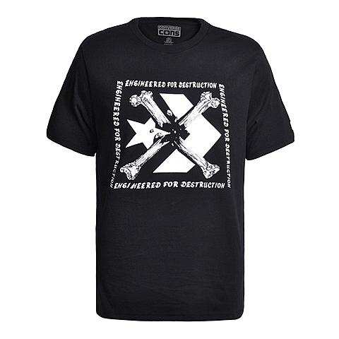CONVERSE/匡威 2016新款男子时尚系列短袖T恤13951C001