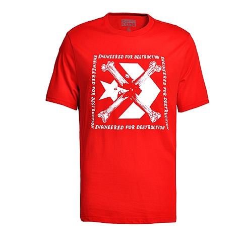 CONVERSE/匡威 新款男子时尚系列短袖T恤13951C934