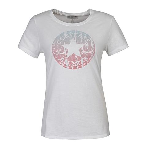 CONVERSE/匡威 新款女子时尚系列短袖T恤10000177102