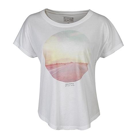 CONVERSE/匡威 新款女子时尚系列短袖T恤14048C102