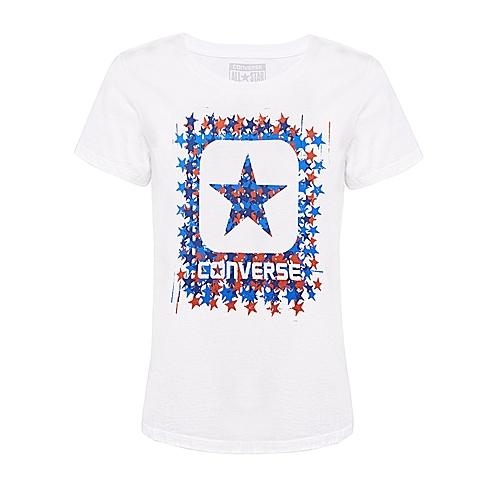 CONVERSE/匡威 新款女子时尚子系列短袖T恤14661C102